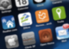 MobilePhone Homescreen with Apps
