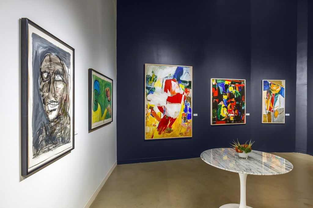 Harold Garde: AbEx to Neo-Expressionism An Exhibition in Three Acts