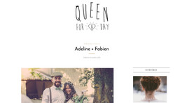 Queen for a day - mariage