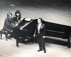 長谷川敏テノール・長谷川由紀ソプラノ ジョイントリサイタル 1976年9月 藤沢市民会館大ホール Pf.H.ドイチュ