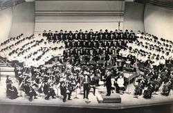 1966年 東京藝術大学 半世紀続演「メサイヤ」テノール独唱 指揮:フリッツ・マイヤー  01