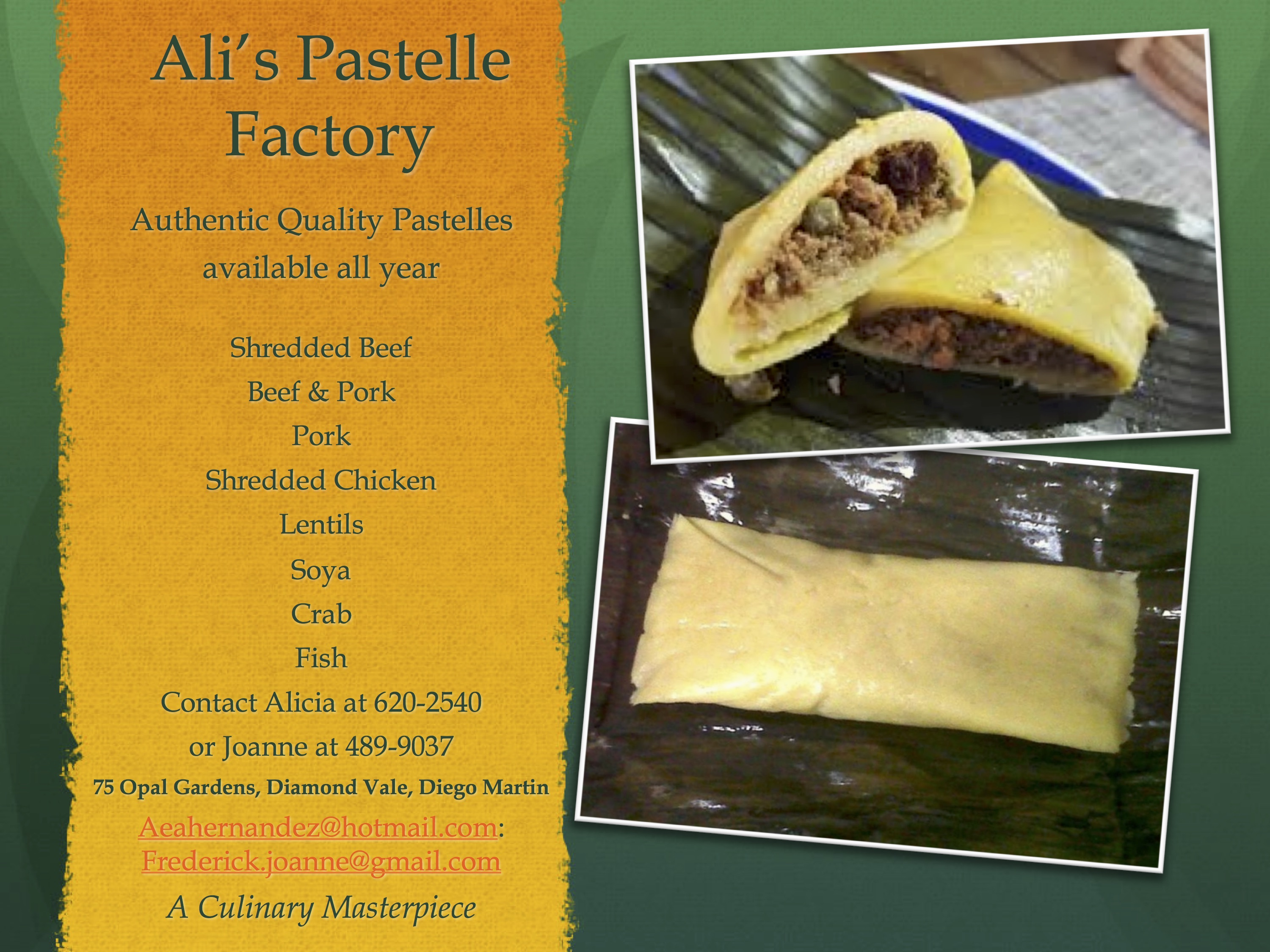 Alicia's Pastelle Factory