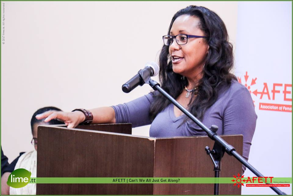 Panelist - Sharon Mottley, Study Lead of Trinidad and Tobago at the National Alliance of State & Ter