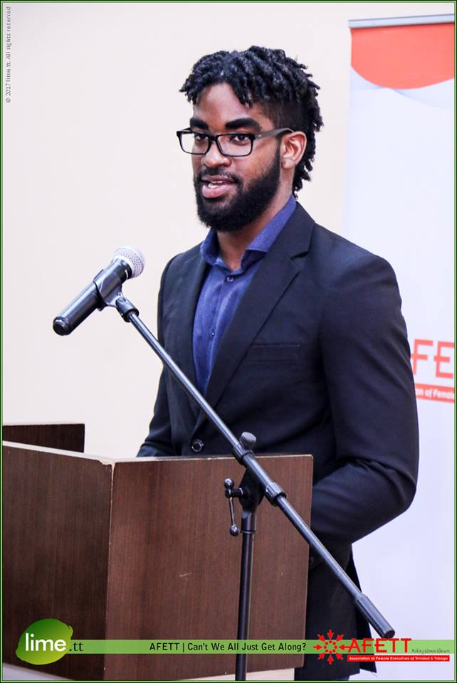 Panelist - Nikoli Edwards, youth and social advocate and youngest Independent Senator in Trinidad an