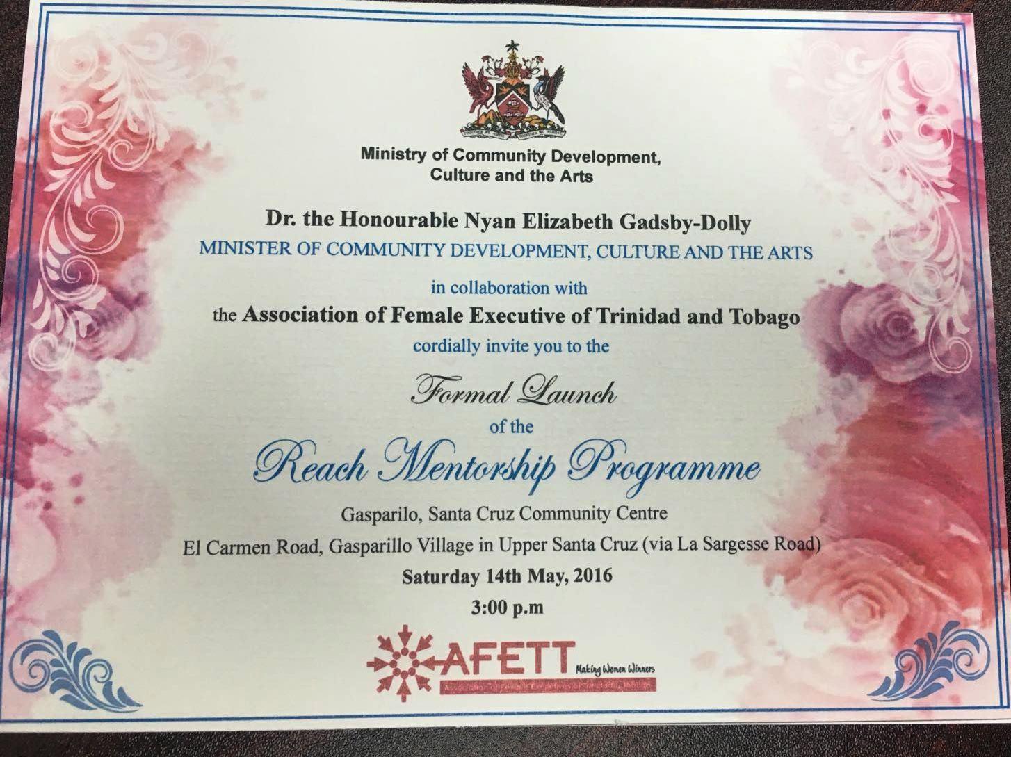 Ministry Mentorship Invitation