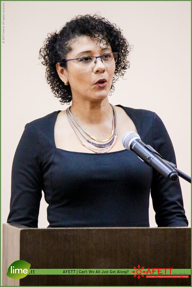 AFETT President, Tricia Leid speaks