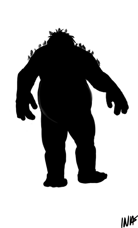 Troll silhouette