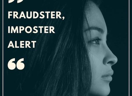 """""""Fraudster, Imposter Alert"""