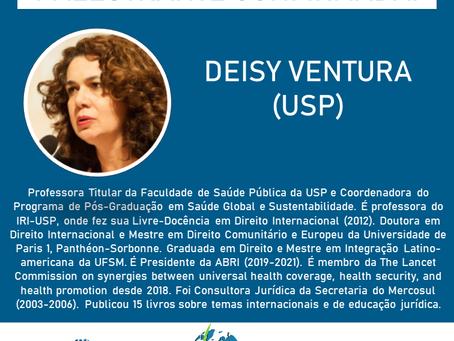 PALESTRANTE CONFIRMADA! Deisy Ventura participará do SimpoRI 2020