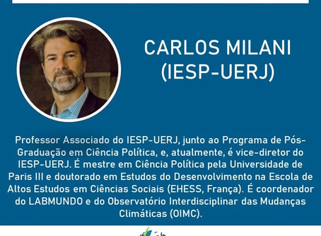 Carlos Milani estará no SimpoRI 2020!