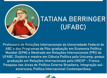 Tatiana Berringer estará no SimpoRI 2020!