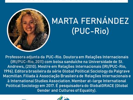 PALESTRANTE CONFIRMADA! Marta Fernández (PUC-Rio) participará do SimpoRI 2020