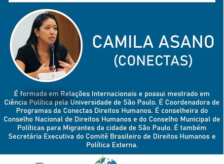 Camila Asano estará no SimpoRI 2020!