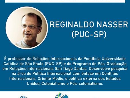 Reginaldo Nasser é mais um nome confirmado no SimpoRI 2020