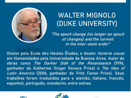 Walter Mignolo estará na Conferência de Abertura do SimpoRI!