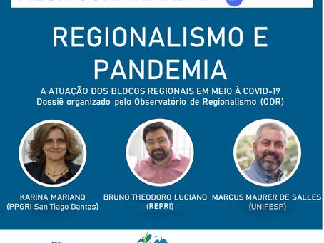 MESA CONFIRMADA! Regionalismo e pandemia: A atuação dos blocos regionais em meio à COVID-19