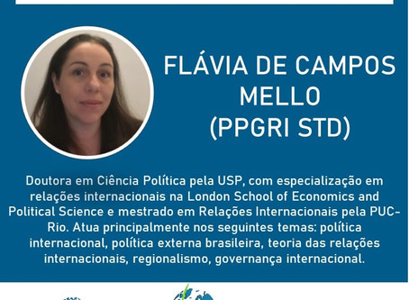 Flavia Campos Mello estará no SimpoRI 2020!