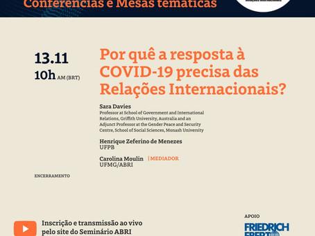 Convite: Conferência de encerramento - Seminário da ABRI 2020