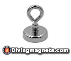 Magnetic Hook - 48mm dia - 81kg Pull