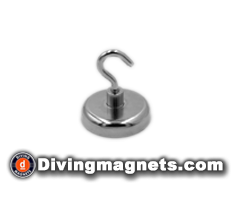 Magnetic Hook - 42mm dia - 68kg Pull