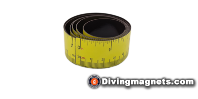 Flexible Magnetic Measuring Tape