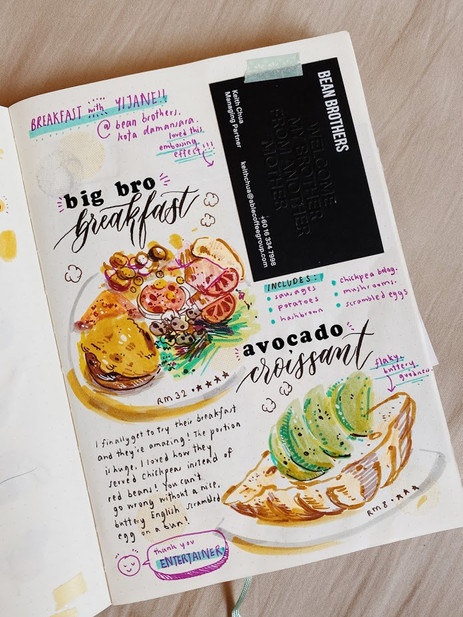Beans Brothers Food Journal