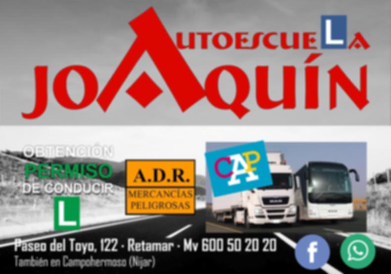ANUNCIO REVISTA GC AUTOESCUELA JOAQUIN 1
