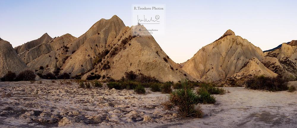 Atardecer en el Desierto de Almería