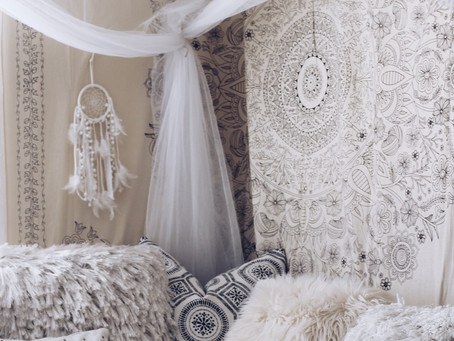 How to have a comfy and hippie room to yourself - DIY
