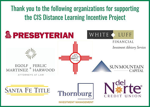 Distance Learning Sponsor Graphic Green.