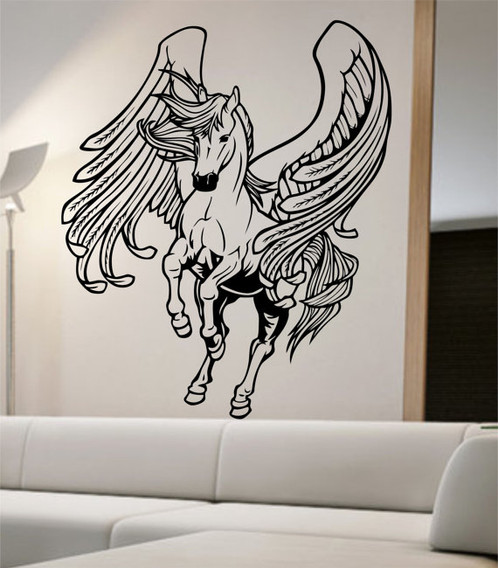 Angel Horse Wall Decal