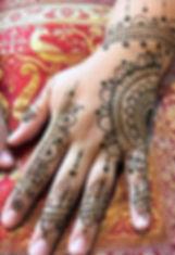 Heart Of Henna Hand Design