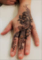Heart Of Henna Jagua Hand Design