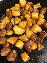 Cajun Curl Roasted Potatoes