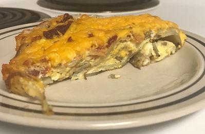 Cajun Curl™ Breakfast Bake