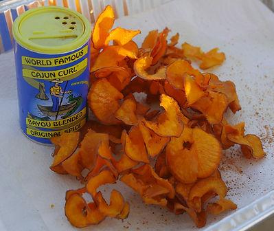 Cajun Curl™ Sweet Potato Chips