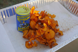 Cajun Curl™ Sweet Potato Chips