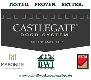 The CastleGate Door System - The Best of the Best.