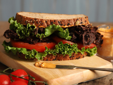 DLT- Dulse, lettuce, and tomato with chipotle mayo