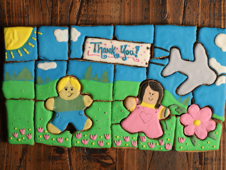 Daycare puzzle cookies