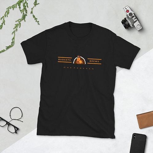Budgets & Brews Turkey Short-Sleeve Unisex T-Shirt