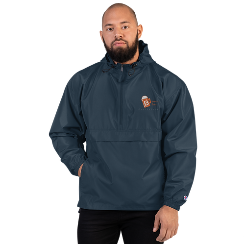 Budgets & Brews Embroidered Champion Packable Jacket