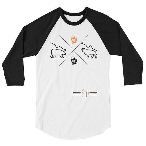 3/4 Sleeve B&B Market Shirt