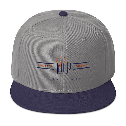 Budgets & Brews Snapback Hat