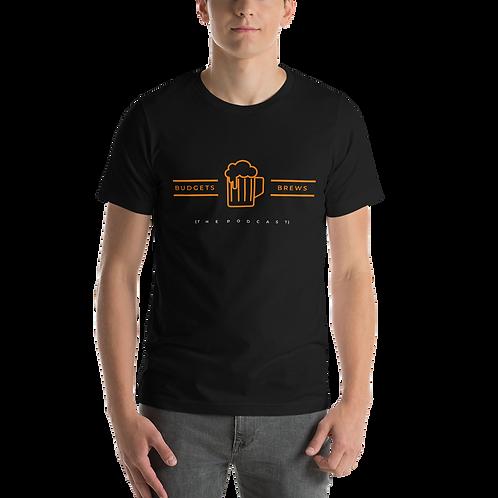 Budgets & Brews Short-Sleeve Unisex T-Shirt