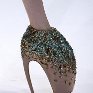 Object: Инопланетные туфли от Alexander McQueen