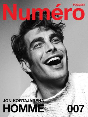 #NUMERORUSSIADIGITALHOMME 007 Jon Kortajarena by Alessio Albi