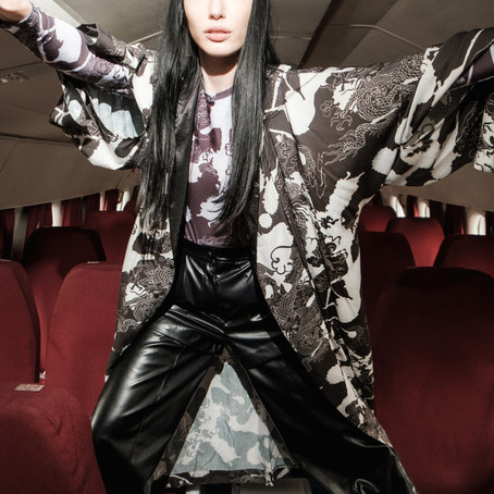 YANA BESFAMILNAYA на Mercedes Benz Fashion Week Russia