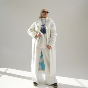 NASTYA POLUNINA на Mercedes Benz Fashion Week Russia