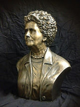 Jeanette L Musgrave, life size, bronze,